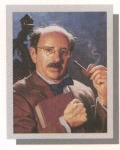 Professor Plum from Clue.