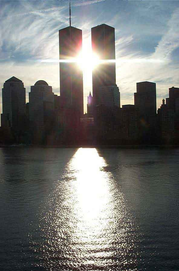 Twin Towers Sunrise