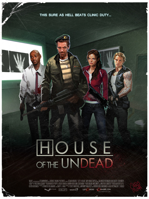 A play on House, lupus, and Left4Dead.